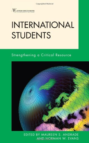 Book cover from International Students: Strengthening a Critical Resource (American Council on Education Series on Higher Education) by Maureen Andrade