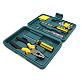 uxcell 10 in 1 Multifunctional Screwdriver Pliers Kit Repairing Tool Set for Car Auto