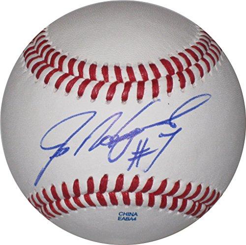 Ivan Rodriguez Signed Baseball - 6
