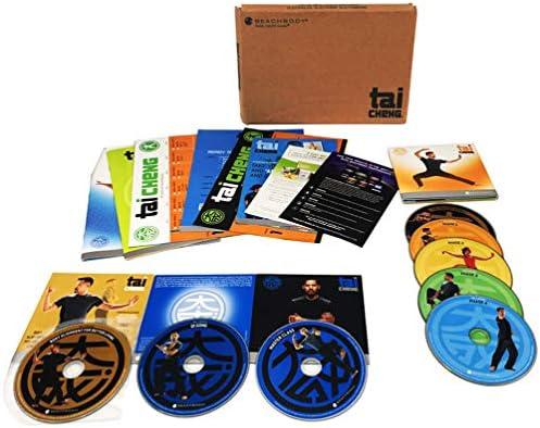 Tai Cheng DVD Workout - 8 DVD Base Kit Shown