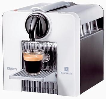 Nespresso Le Cube XN5000 Krups - Cafetera monodosis (19 bares), Color blanco metalizado: Amazon.es: Hogar