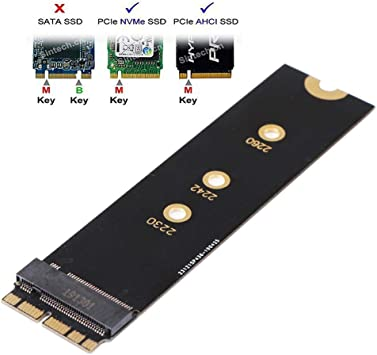 Teabelle M.2 PCIE NVME SSD M.2 nVME SSD Tarjeta adaptadora ...