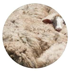 alfombrilla de ratón ovejas independiente - ronda - 20cm