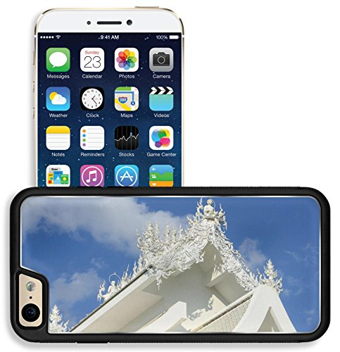 Liili Apple iPhone 6 iPhone 6S Aluminum Backplate Bumper Snap iphone6/6s Case Famous white church in Wat Rong Khun Chiang Rai province north Photo - Picture Rai