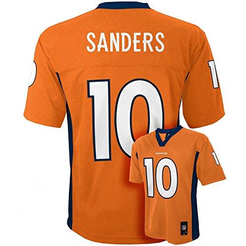 Emmanuel Sanders Denver Broncos #10 Orange NFL Youth Home Mid Tier Jersey (Large 14/16)