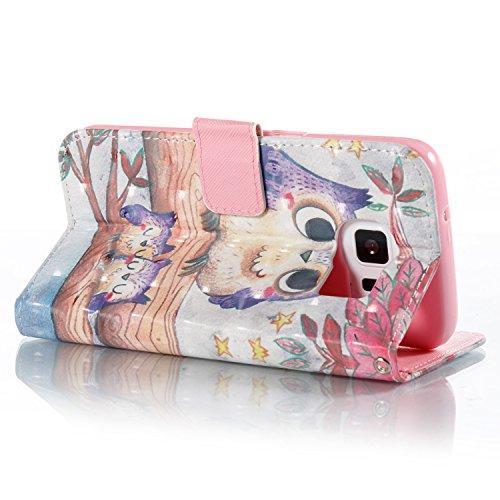 Galaxy Bling Housse Galaxy étincelant en portefeuille Etui S7 S7 Bling Edge portefeuille Samsung pour cuir en Samsung cuir EUWLY Edge Etui qXwpPdaa