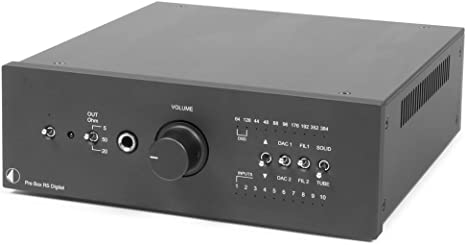 Pro Ject Pre Box Rs Digital Vorverstärker Schwarz Heimkino Tv Video