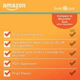 Amazon Basic Care Nicotine Polacrilex Coated Gum
