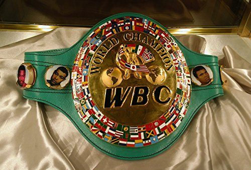 (Peel-n-Stick Poster of World Boxing Council Championship Belt Sport History Poster 24x16 Adhesive Sticker Poster Print)