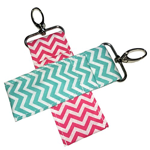 chapstick-key-chain-holder-2-pack-lip-balm-holder-in-chevron-colors-2-pack-mint-pink