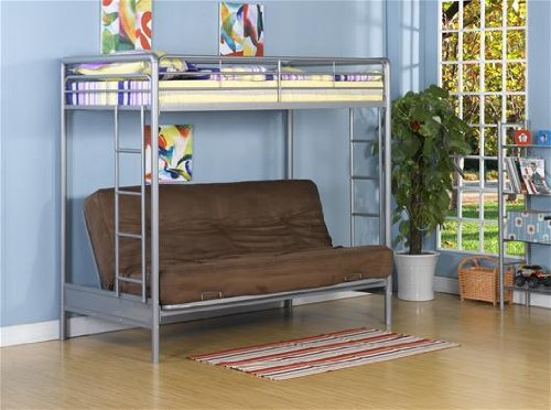 Ameriwood Dorel Home Products Twin-Over-Full Futon Bunk B...