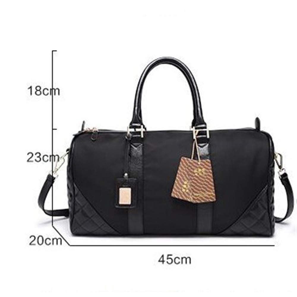 Womens Travel Bags Unisex Waterproof Weekender Overnight Travel Bag Flight Bag for Men Women PU Leather Gym Sports Duffel Tote Bag Luggage Holdall Bags Handbag Shoulder Bags Weekender Overnight Carry