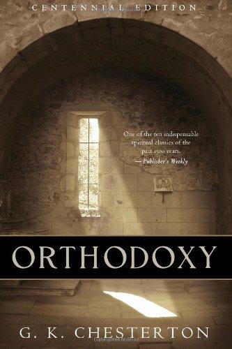 Orthodoxy: Centennial Edition pdf