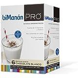 biManán Pro Batido De Chocolate Blanco 6 Sobres