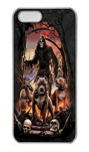 Deathball Custom iPhone 5s/5 Case Cover Polycarbonate Transparent