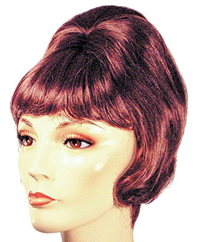 Lacey Wigs Beehive Spitcurl, One Size, Black -