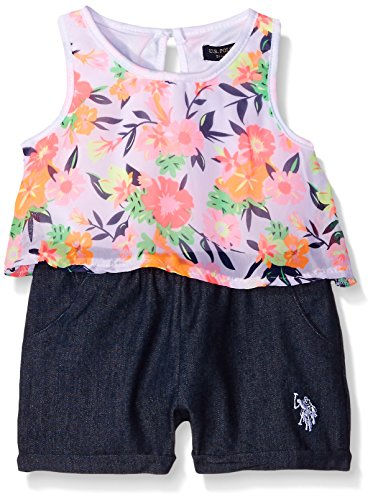 Girls Sleeveless Polo Top - 1