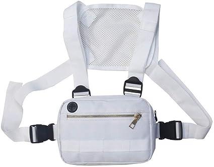 Functional Chest Bag Men Women Streetwear Hip Hop Rig Waist Adjustable Vest Bags