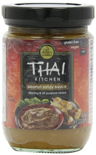 Thai Kitchen Peanut Satay Sauce, 8-Ounce (Pack of ()