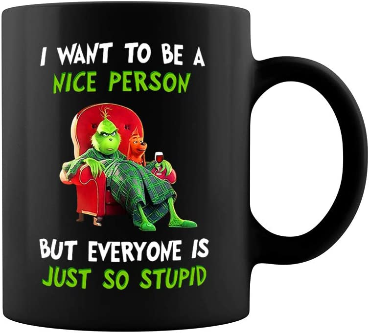 I Want To Be A Nice Person But Everyone I Work With Are So Stupid Funny Mug