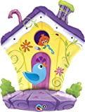 "Single Source Party Supplies - 35"" Bird House Shape Mylar Foil Balloon"