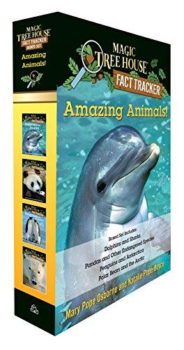Amazing Animals! Magic Tree House Fact Tracker Boxed Set (Magic Tree House (R) Fact - Set Fact