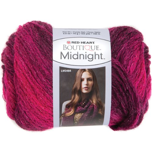 Prima Marketing Red Heart Boutique Midnight Yarn, Radiant by Prima Marketing