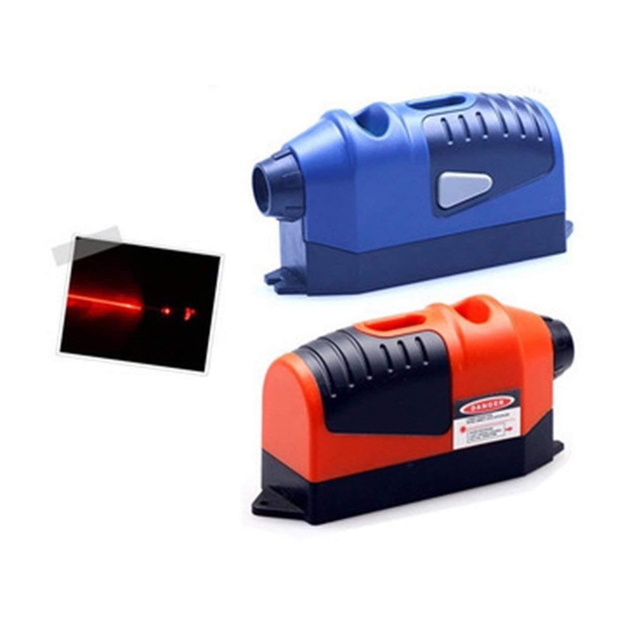 HONGIGI Universel Mini-mesureur de Niveau de Laser Infrarouge portatif Cross Line Tape Laser 2.5 Metres Outils de Mesure Couleur: Livraison al/éatoire