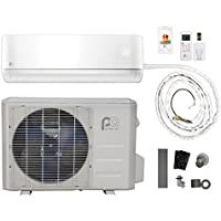 Perfect Aire DIY 36,000 BTU 16 SEER Quick Connect Ductless Mini-Split Heat Pump w/ WiFi