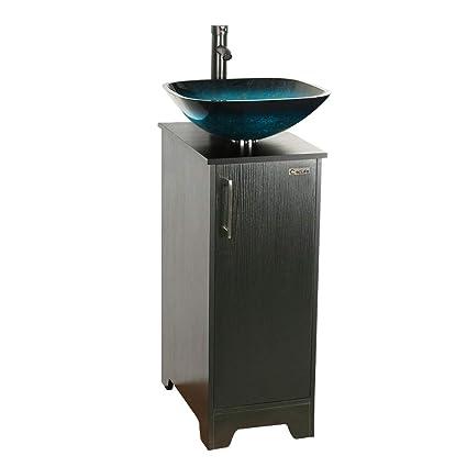 U Eway Small Bathroom Vanity Pedestal Cabient With Storage 13 Inch