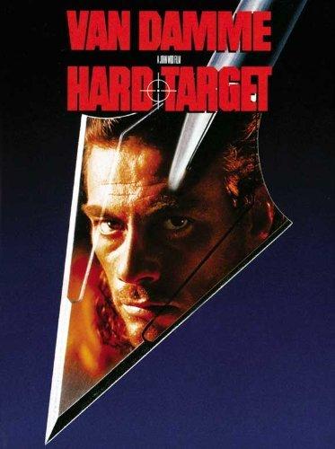 van damme hard target poster - 6