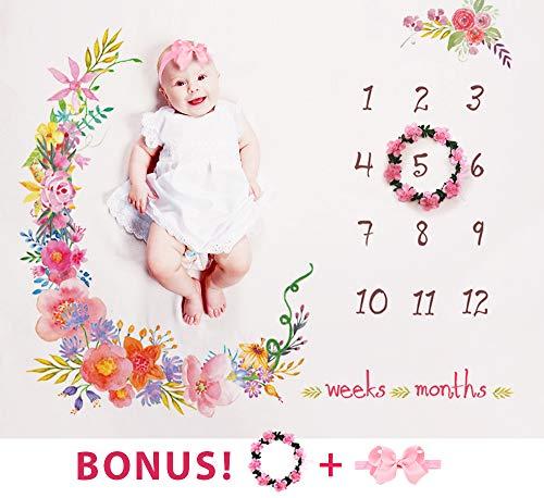 Baby Monthly Milestone Blanket Large 60