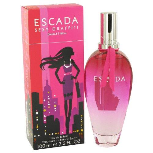 Escädã Séxy Graffïtï Perfumé For Women 3.4 oz Eau De Toilette Spray +Free Espécially-Vial
