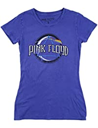 Juniors Pink Floyd Dark Side of The Moon T-Shirt Royal Blue