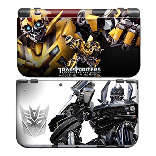 TRANSFORMERS BUMBLEBEE for New Nintendo 3DS Skin N3DS New3DS Decal Sticker Vinyl Cover + Screen Protectors ()