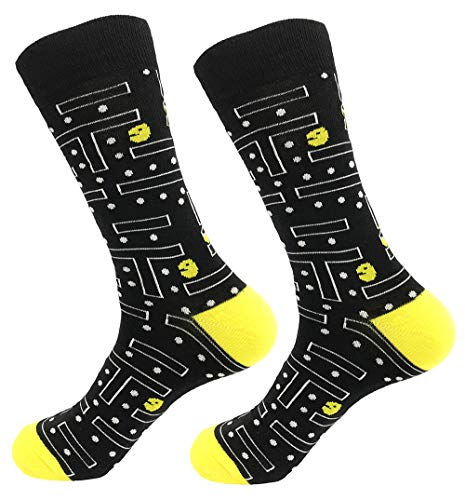 Pac-Man Maze Unisex Socks, Adult Sizes 7-12