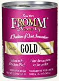 Fromm Gold Salmon & Chicken Pâté 12.2oz / case of 12 Review