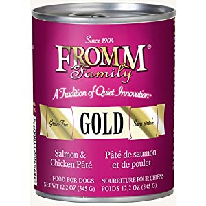 Fromm Gold Salmon & Chicken Pâté 12.2oz / case of 12 102
