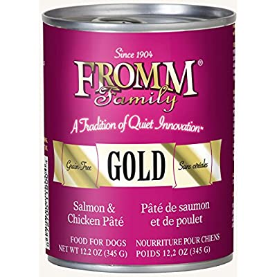 Fromm Gold Salmon & Chicken P?t? 12.2oz / case of 12