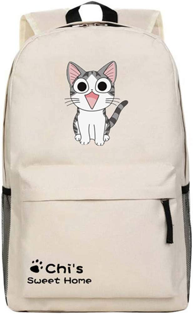 Cartoon Anime Chi's Sweet Home Backpack Chi Cute Cat Printing Nylon Shoulder Bag Middle School Student Schoolbags Kids Gift 4