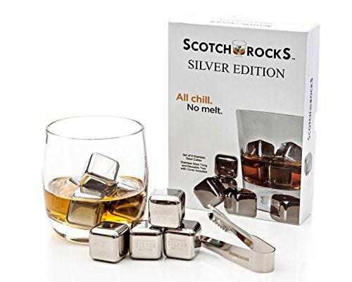 Stainless Plastic Storage Scotch Rocks