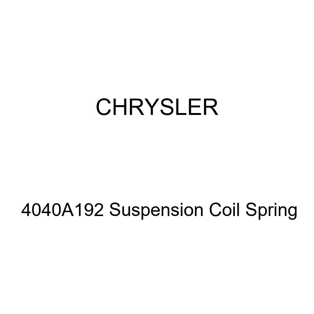 Genuine Chrysler 4040A192 Suspension Coil Spring