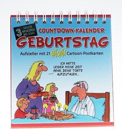 """Uli Stein Countdown-Kalender """"Geburtstag"""""""