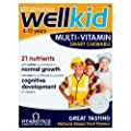 Vitabiotics Well Kid Chewable Smart Mulivitamins All Natural Flavours, 30 Chewable by Wellkid