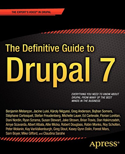 Book cover from The Definitive Guide to Drupal 7 by Benjamin Melancon