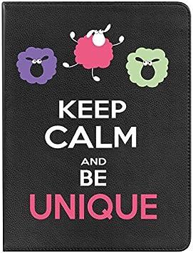 Funda bq Edison 3 mini BeCool Libro Keep Calm and Be