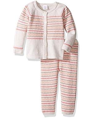 Baby Girls' Fairisle Sweater Set