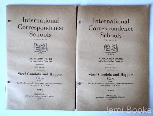 Steel Gondola and Hopper Cars in Two Volumes - Drop Bottom Gondola