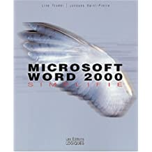 Microsoft word 2000 simplifie