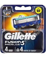 Gillette Fusion ProGlide Power Razor Cartridges Refill, 4ct